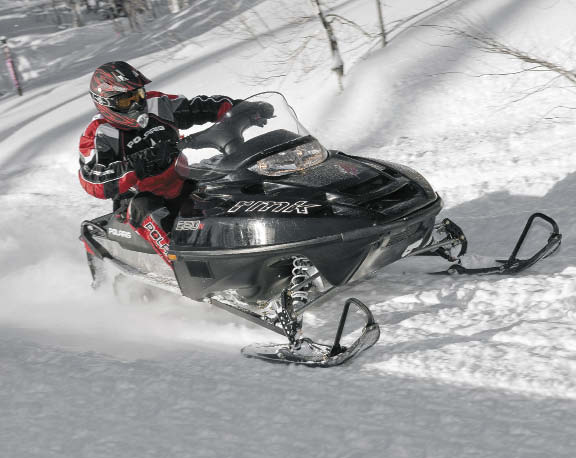 2010 Polaris Trail RMK
