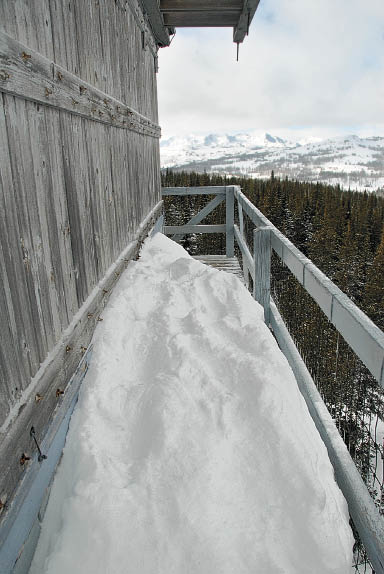 Walkway on the Russel Mountain lookout
