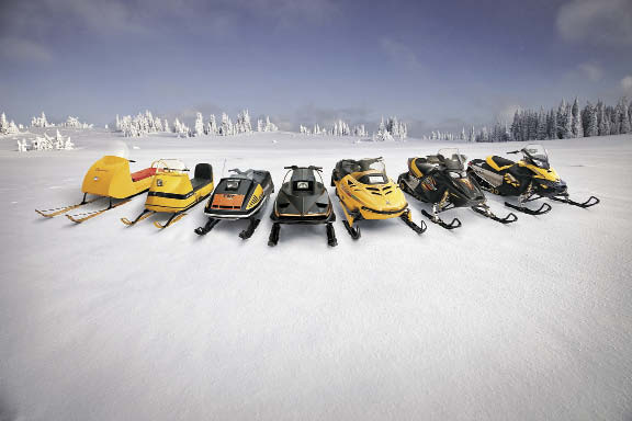 Ski-Doo through the years