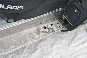 Polaris running boards