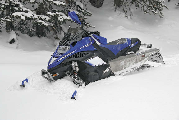 The hybrid the crossover the 2 in 1 snowest magazine for Yamaha nytro tunnel