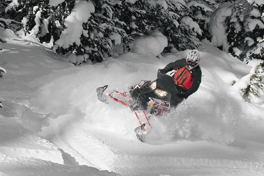 "Polaris Assault ""the grandfather of the Freeride segment"""