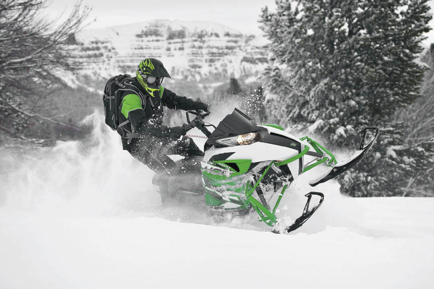 Arctic Cat HCR M 800 naturally aspirated