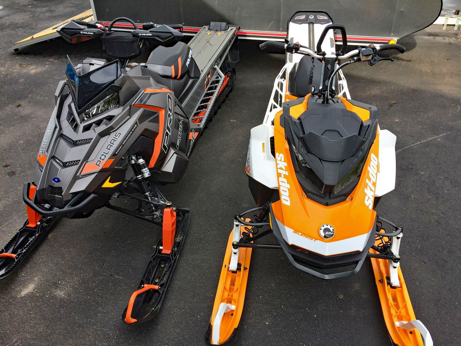we weigh the 17s ski doo summit x 850 vs polaris 800 pro rmk 174 le snowest magazine. Black Bedroom Furniture Sets. Home Design Ideas