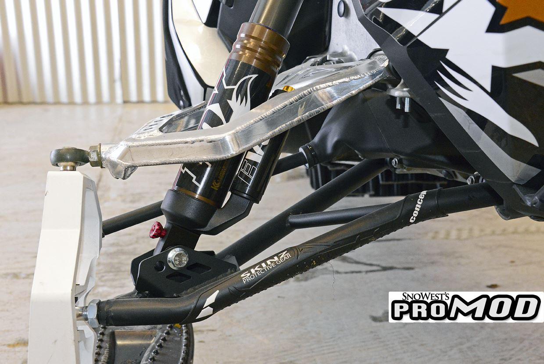 Snowest Promod Dan Adams Turbo 2014 800 Polaris Pro Rmk