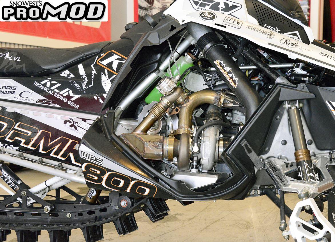 Snowest Promod  Dan Adams U0026 39  Turbo 2014 800 Polaris Pro Rmk