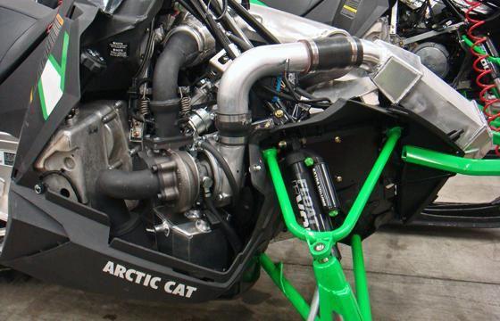 Boondocker Tapio Racing Build Turbo 2012 Arctic Cat M800