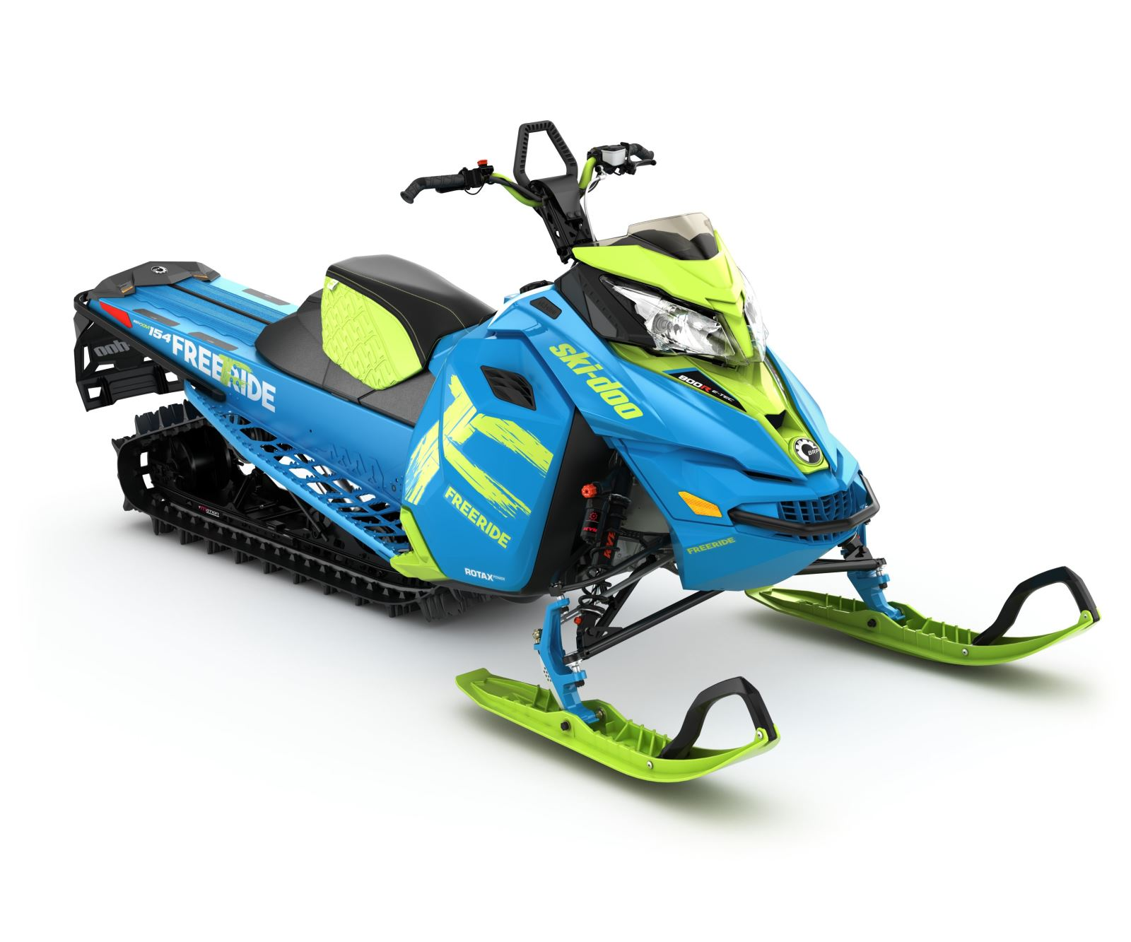 2017 Ski Doo Freeride 154 And 146