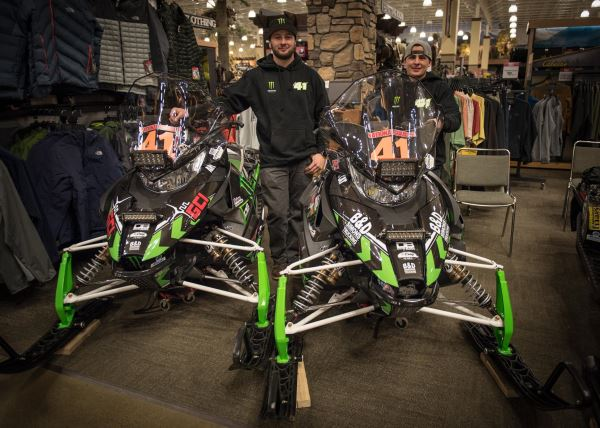 Parts Of A Column >> Arctic Cat Teams Compete In 2,000-Mile Alaskan Iron Dog Race | Snowest Magazine