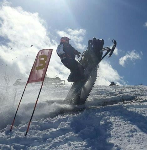Increased Turnout At Race 2 For Vintage Snowmobile