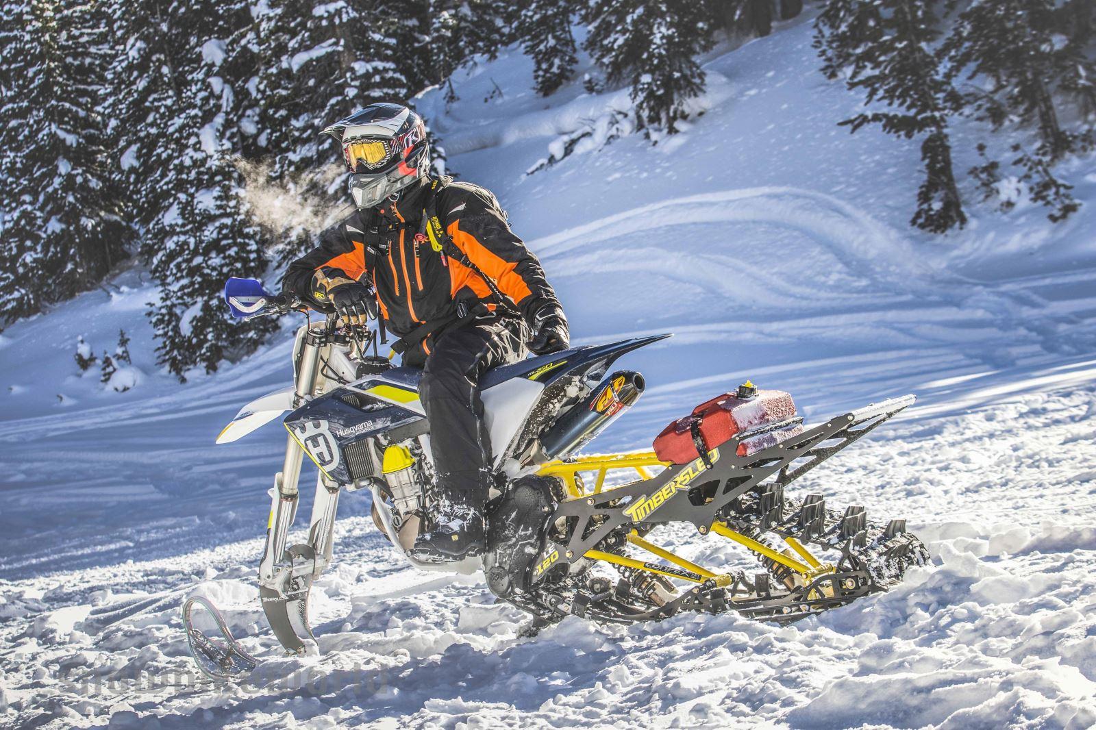 First Ride On Dirt Snowest S 2015 Yamaha Yz450f Snow Bike Build