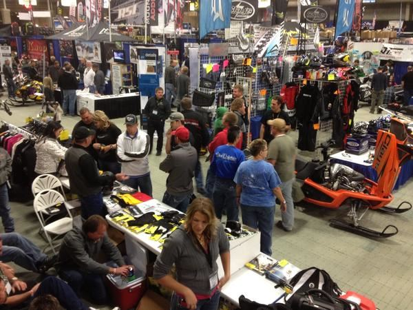 And Just Like That, Intermountain Snowmobile Show Is Over (With more pictures added on 10/30)
