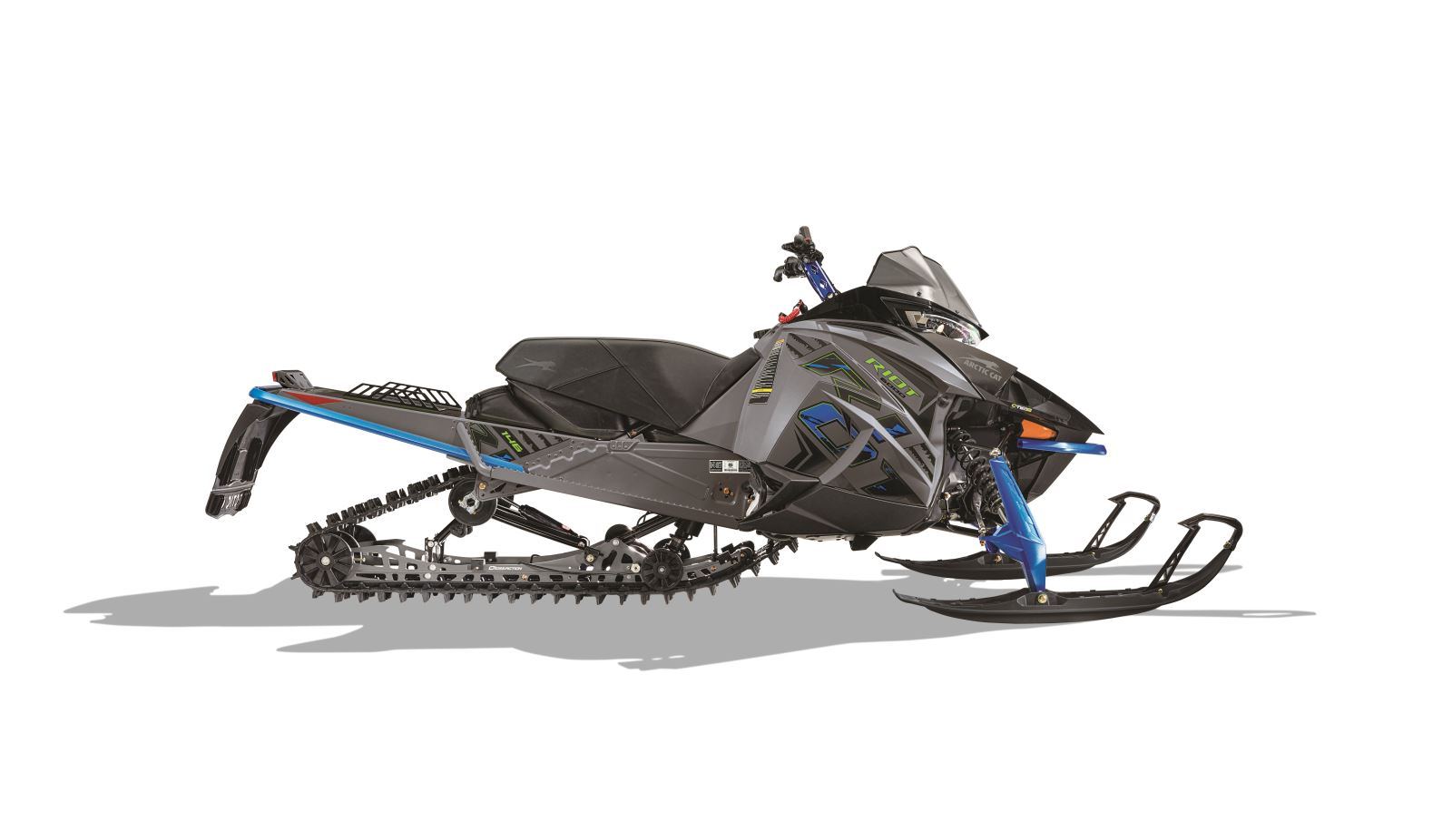 Arctic Cat Riot: The Ultimate 50/50 Crossover Snowmobile ...