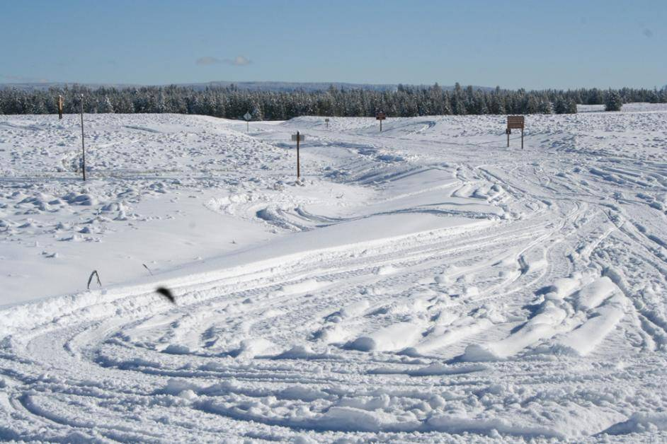 Island Park Snowmobile Conditions